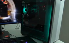 $2000 White Gaming Rig - Synchronous lightings - Sync all the RGB lightings on your components